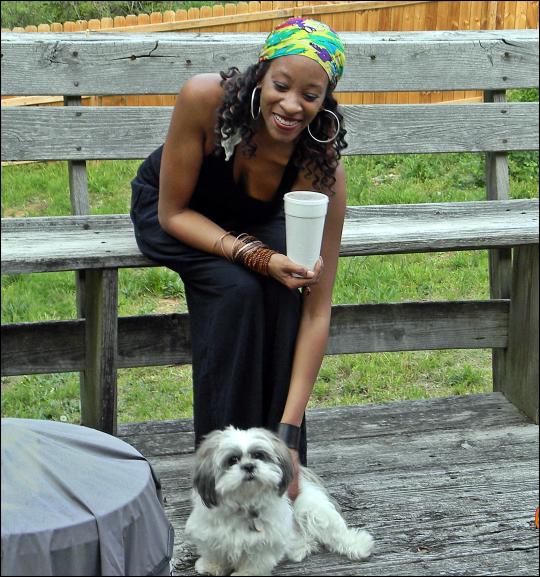Yana and bijou 2012